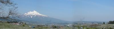 岩木山全景